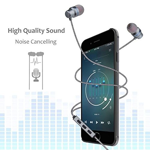 Earbuds Wired Headphones With Microphone In Ear Earphones Ear Buds With Stereo Mic And Volume Control For Android Smart Phones iPhone iPad Samsung Music Noise Cancelling 3.5mm Devices Headphones by Gsebr (Image #4)