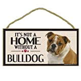 Imagine This Wood Sign for Bulldog Dog Breeds