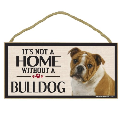 - Imagine This Wood Sign for Bulldog Dog Breeds