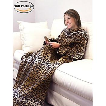 snuggie fleece blanket with sleeves camoflauge home kitchen. Black Bedroom Furniture Sets. Home Design Ideas