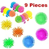 9 Pack Sensory Toys for Kids by Mr.E=mc2   Fidget Toys Package for Kids in Class with ADHD, Autism, OCD, Anxiety, and Sensory Therapy Special Needs   Stress Relief Kit with Processing Tools