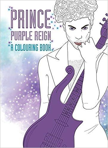 Prince Purple Rain A Coloring Book AD Hitchin Coco Balderrama 9780859655521 Amazon Books