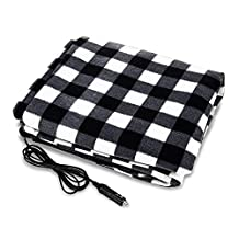 Car Electric Blanket car Polar Fleece 12V Heating Blanket