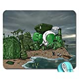 Entertainment cthulhu funny 1280x1024 wallpaper mouse pad computer mousepad