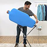 SHARKK Flippr Ironing Board with 360 Degree Rotating Function and Detachable Iron Rest, Premium Aluminum Iron Board with 8 Adjustable Heights - Flippr by