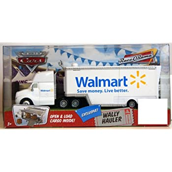 Amazon com: CARS WALMART Hauler Wally: Toys & Games