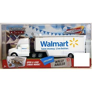 Disney Pixar Cars Walmart Wally Hauler