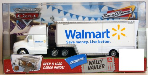Disney Pixar Cars Walmart Wally Hauler