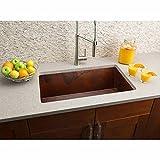 Hahn Copper Series Handmade Large Single Kitchen Sink