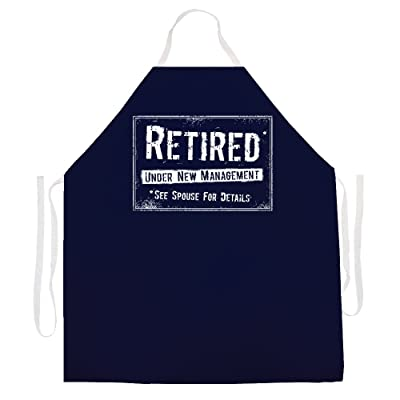 Attitude Aprons 2499 Retired New Mangement Apron