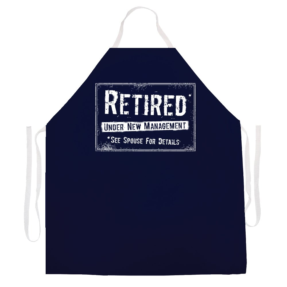 Attitude Aprons 2499 Retired New Mangement Apron by Attitude Aprons
