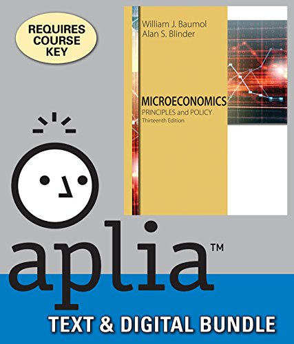 Bundle: Microeconomics: Principles And Policy + Aplia 1 Term Printed Access Card