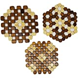 'Bamboo Trivets A Set Of 3 By TOFL (3, 60 rectangle)' from the web at 'https://images-na.ssl-images-amazon.com/images/I/51QNbLZVc0L._AC_SR160,160_.jpg'