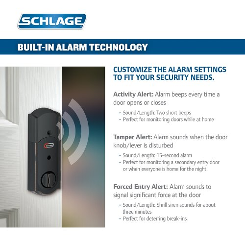 Schlage Z Wave Touchscreen Deadbolt Lock Kit