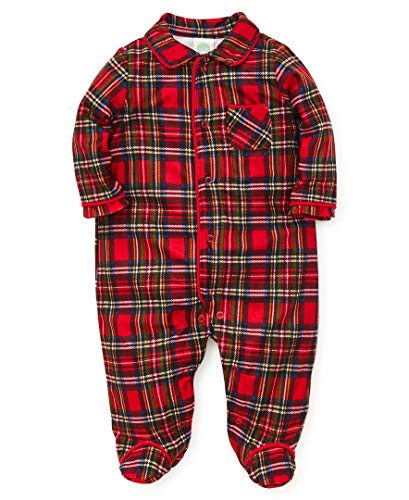 Little Me Baby Boys Christmas Plaid Pajamas, 6 Months