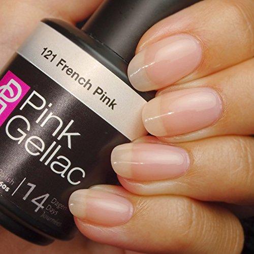 Pink Gellac #121 French Pink Soak-Off UV / LED Gel Polish