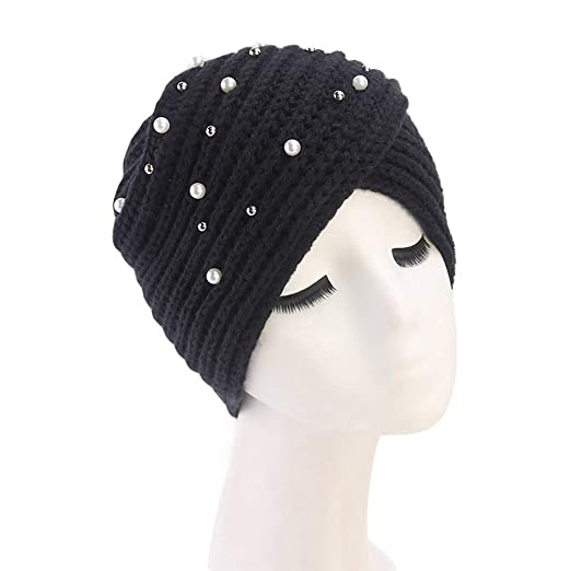 Image Unavailable. Image not available for. Color  Allywit Winter Hat Warm  Knit Cap Beanie Sleep Chemo ... bb4011af04bb