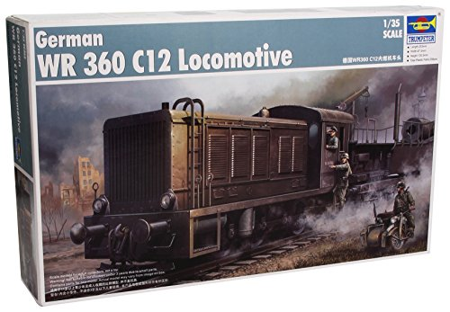 Trumpeter 1/35 German WR360 C12 Armored Locomotive