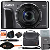 Canon PowerShot SX720 HS 20.3MP Digital Camera 40x Optical Zoom and Built-in WiFi/NFC (Basic Kit, Black)