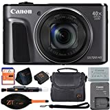 Canon PowerShot SX720 HS 20.3MP Digital Camera 40x Optical Zoom and Built-in WiFi/NFC (Basic Kit, Black) -  ZeeTech