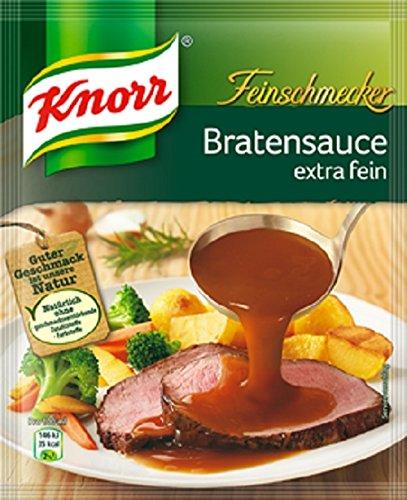 Knorr Feinschmecker Bratensoße extra fein, 13er Pack (13 x 250 ml)