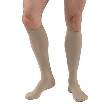ee5cc81834 Amazon.com: JOBST Travel Compression Socks, 15-20 mmHg, Knee High ...