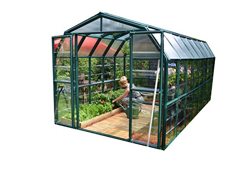 Rion Grand Gardener 2 Clear Greenhouse, 8′ x 16′