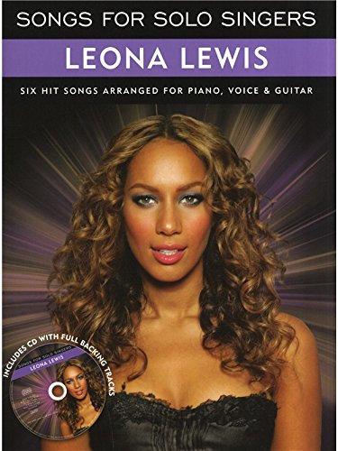 Songs For Solo Singers: Leona Lewis  CD, Sheet Music for