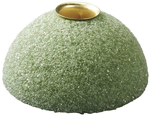 Styrofoam Block Arranger - FloraCraft Styrofoam Half Ball Candle Holder 1.9 Inch x 3.9 Inch Green