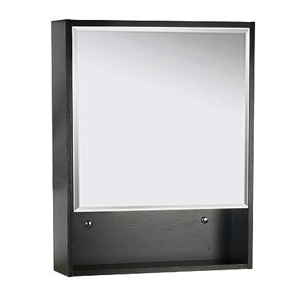 amazon com u eway 22 x28 bathroom medicine cabinet organizer with rh amazon com  black medicine cabinet without mirror
