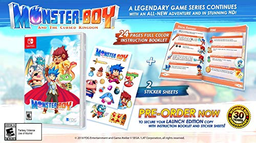 Monster Boy and the Cursed Kingdom - Nintendo Switch