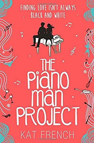 book cover of The Piano Man Project