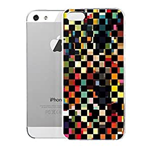 Light weight with strong PC plastic case for iPhone iphone 6 4.7 Artists Jorge Oswaldo Black Checks