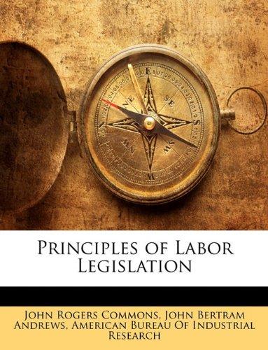 Download Principles of Labor Legislation pdf epub