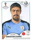 #5: 2018 Panini World Cup Stickers Russia #99 Sebastian Coates Uruguay Soccer Sticker