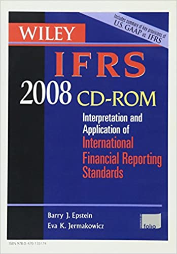 Wiley IFRS 2008, CD-ROM: Interpretation and Application of International Accounting and Financial Reporting Standards 2008