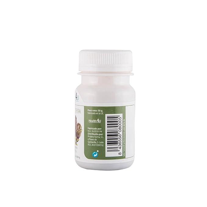 H4U Alcachofera - 3 Paquetes de 100 Cápsulas: Amazon.es: Salud y cuidado personal