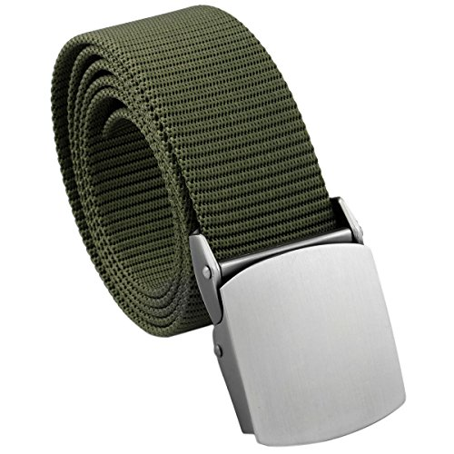 squaregarden SWEET-141 Men's Nylon Webbing Military Style Tactical Duty Belt