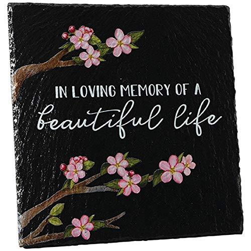 Carson Loving Memory Slate Easel Plaque