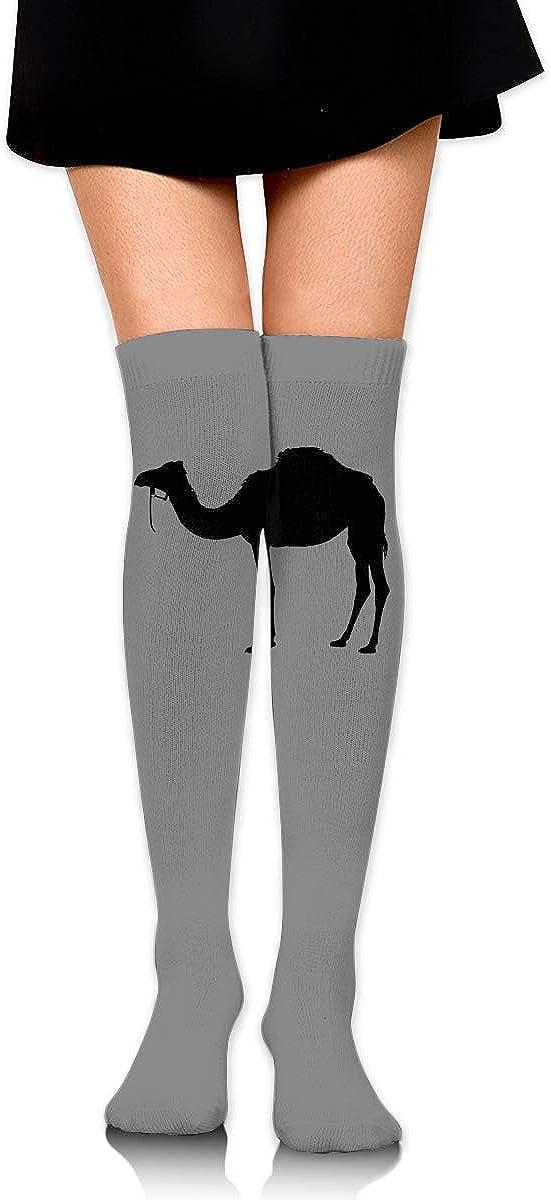 Camel Womens Socks Girls Cosplay Leg Wamers Fancy Boot Stockings