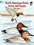 img - for North American Ducks, Geese and Swans (Dover Nature Coloring Book) book / textbook / text book