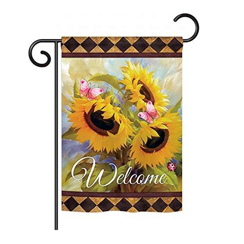 Sunflower Welcome Garden - Welcome Sunflower Spring - Garden Friends Floral Decoration - 13