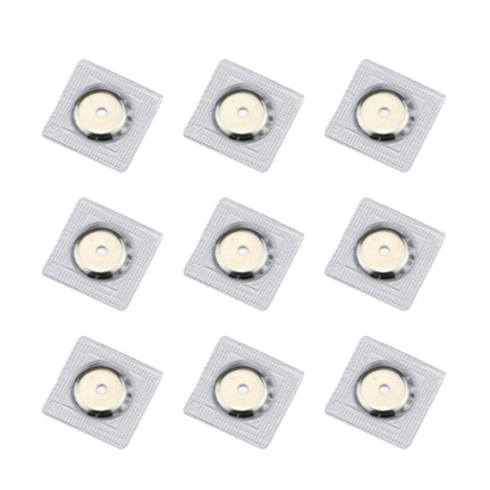 Healifty 20 piezas botones magn/éticos a presi/ón invisibles imanes broches sujetadores botones de presi/ón botones 2 partes cierre de bolso oculto para diy artesan/ía accesorio 13mm