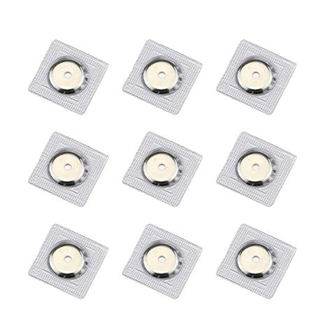 SUPVOX 20 Piezas Botones magnéticos broches de presión ...