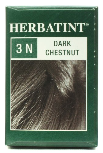 Herbatint Permanent Herbal Haircolor Gel, Dark Chestnut 3N by HERBATINT