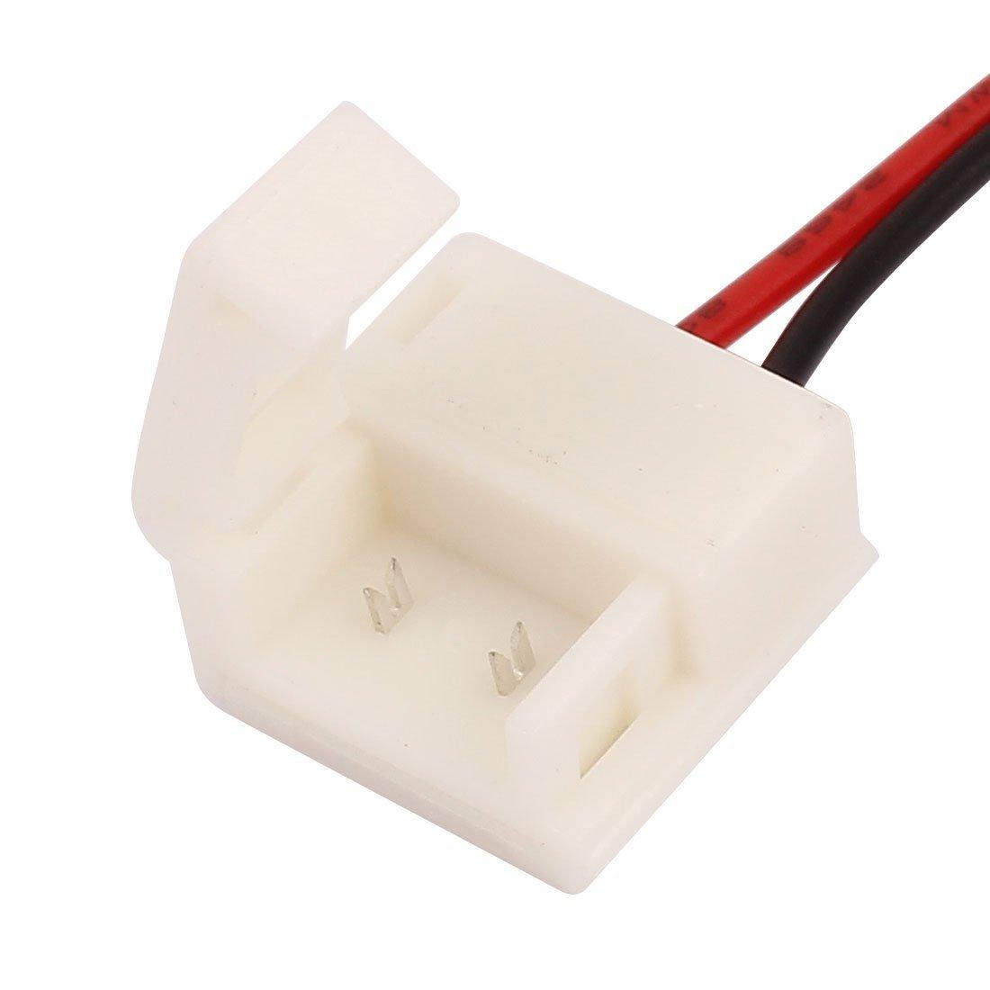DealMux 2 10pcs Pin conector para 10 mm de largura PCB impermeável de cor única 5050 Faixa de LED - - Amazon.com