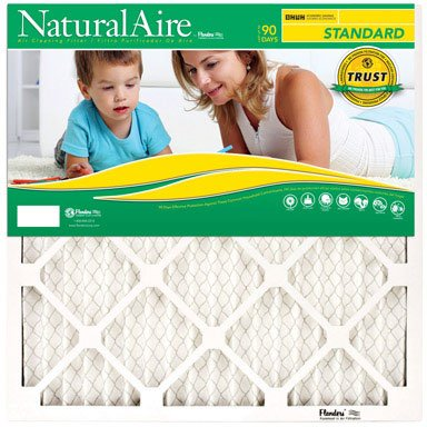18x36x1, Naturalaire Standard Air Filter Merv 8, 84858.011836, Pack12