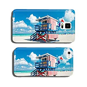 Lifeguard hut in South Beach, Miami cell phone cover case iPhone5