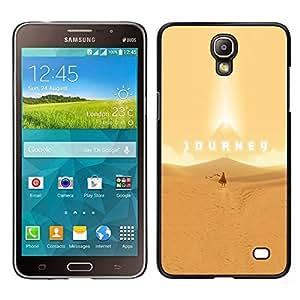 EJOY---Cubierta de la caja de protección la piel dura para el / Samsung Galaxy Mega 2 / --Viaje juego