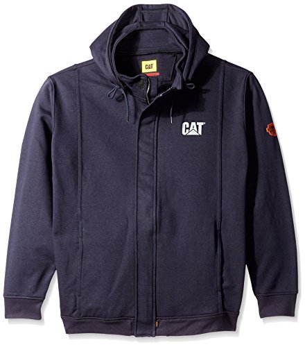 Caterpillar Flame Resistant 14.5 oz  Full Zip Sweatshirt ...